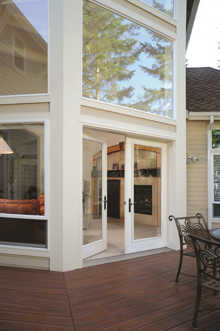Picture Windows and Patio Door
