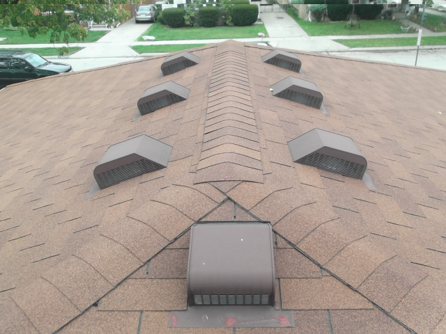 Exterior Static Roof Vents