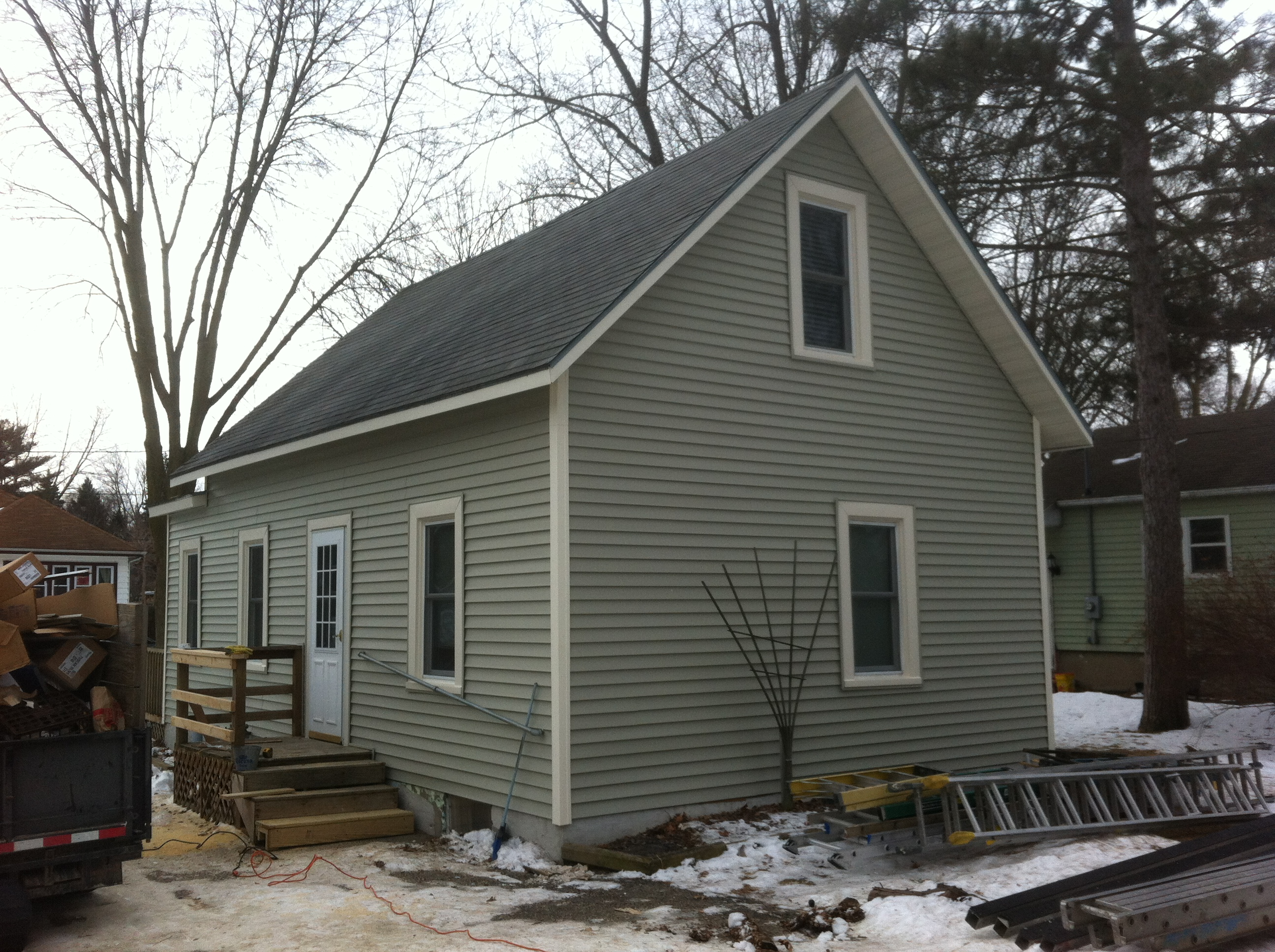 After Siding.